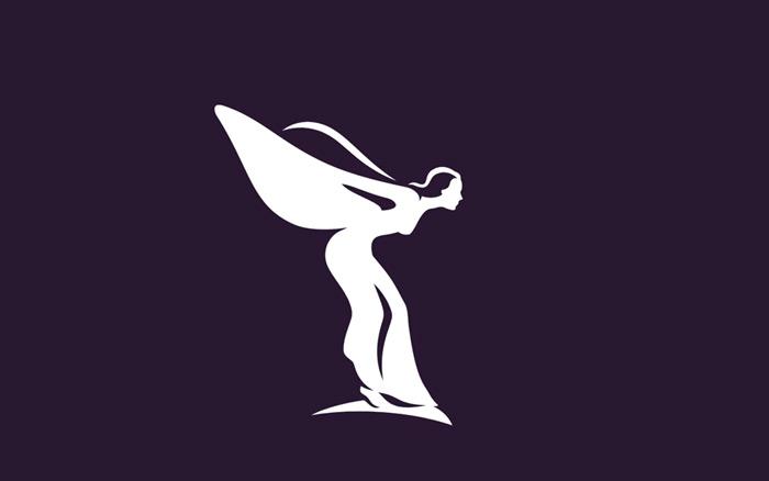 劳斯莱斯启用新Logo,小人儿变得更优雅了!