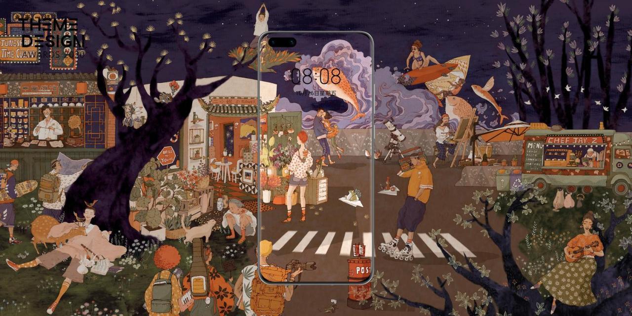 华为全球主题设计大赛揭榜,126幅神级作品一键收藏!